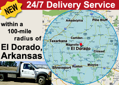 24/7 Delivery service Servicing South Arkansas, North Louisiana and East Texas for all your Roofing and Fabrication needs.