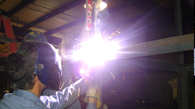 Welding by Long's Roofing and Sheet Metal
